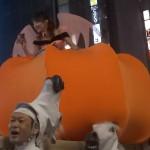 歌舞伎町にカボチャの馬車に乗った下田美咲参上【ハロウィン】