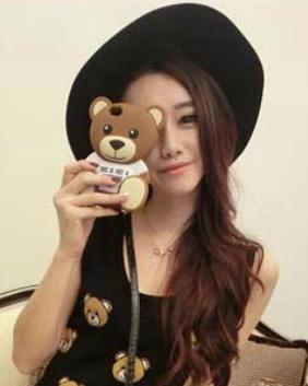深田恭子 インスタ 話題のクマのiphone ケース モスキーノ の通販は?