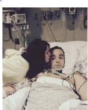 アンビリバボー マイナス4℃で凍死したジャスティン・スミスがコールマン医師の決断と最新の医療ECMOで生き返った奇跡!3月16日 動画 画像