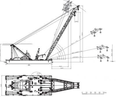 プロフェッショナル 巨大クレーン船[富士]気仙沼大島大橋架設 段野下定美船長 見逃し配信 再放送 4月24日