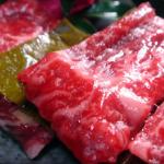 ケンミンショー 昆布締め 富山県 氷見牛肉刺し身の通販/お取り寄せ!鶏肉&野菜までも昆布締め?